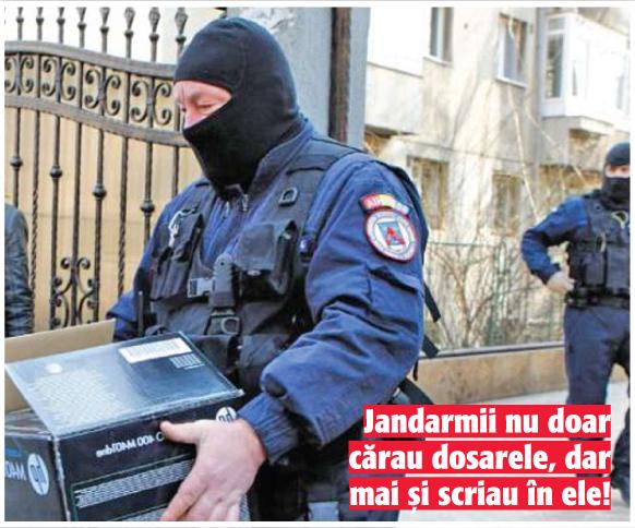 02 03 7 Dosarele DNA predate la Jandarmi!