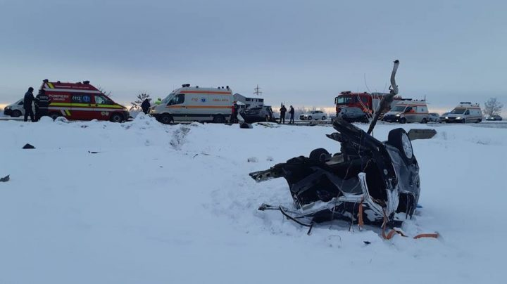 accident 1 720x404 Accident cu urmari grave: un mort si doi raniti, in Giurgiu