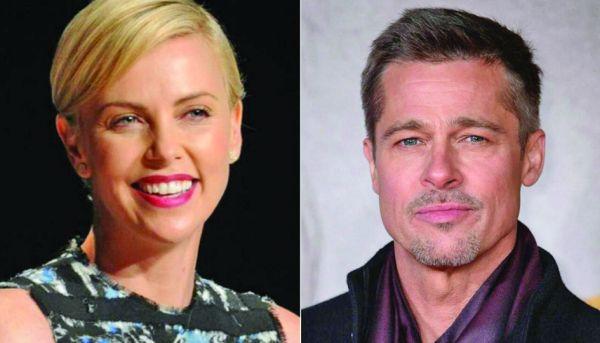 brad pitt Brad Pitt s a cuplat cu Charlize Theron