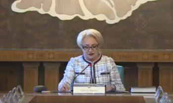 dancila 350x210 Dancila a vorbit de exporturi si de Romania devastand...devansand state puternice (VIDEO)