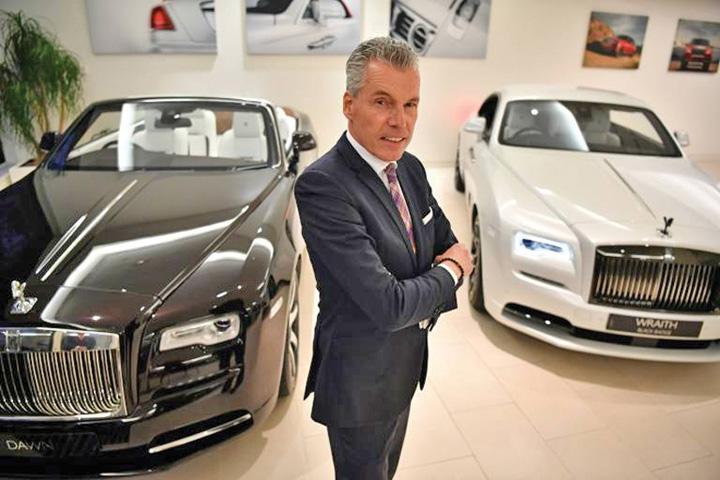 director Rolls Royce, skanderberg cu Brexit