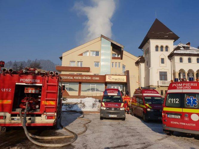 incendiu camin 667x500 Incendiu la un azil din Suceava: zeci de oameni evacuati