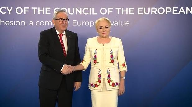 intrevedere guvern Presedintele Comisiei Europene, la Guvern: as vrea sa inceteze problemele si litigiile interne din Romania