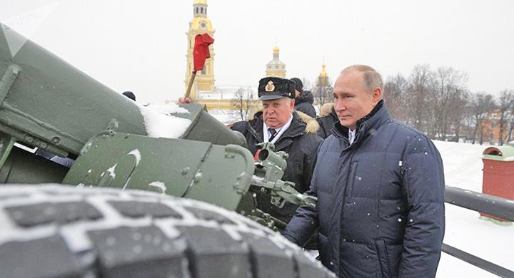putin 1 1 Putin, tunar de Craciun