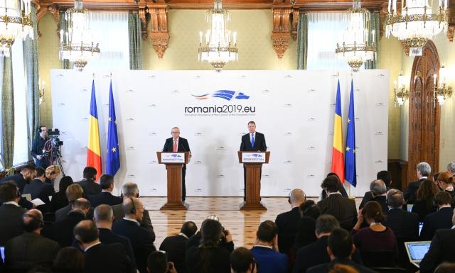 small vizita colegiului comisarilor 11 ian 2018 16 Juncker, referire la amnistie dupa discutiile de la Cotroceni: Ar fi un pas inapoi