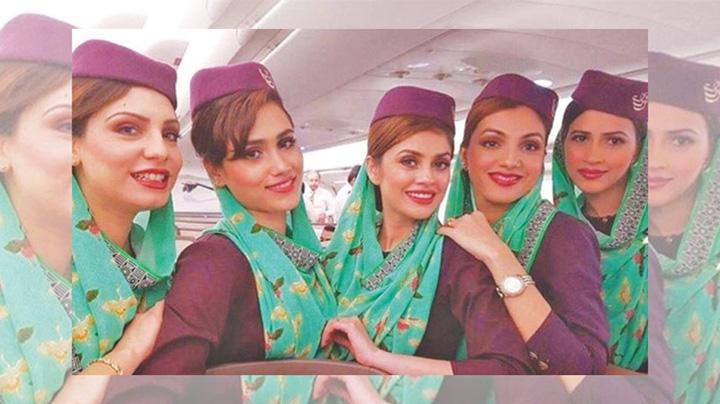 stewardese Stewardese, obligate sa slabeasca 13 kilograme