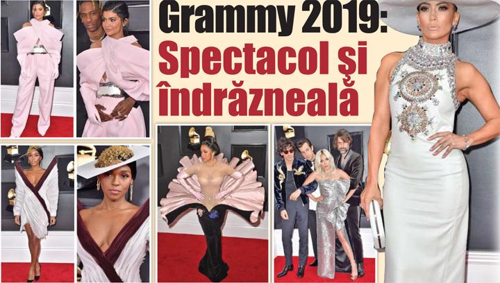 08 09 Grammy 2019: Spectacol si indrazneala