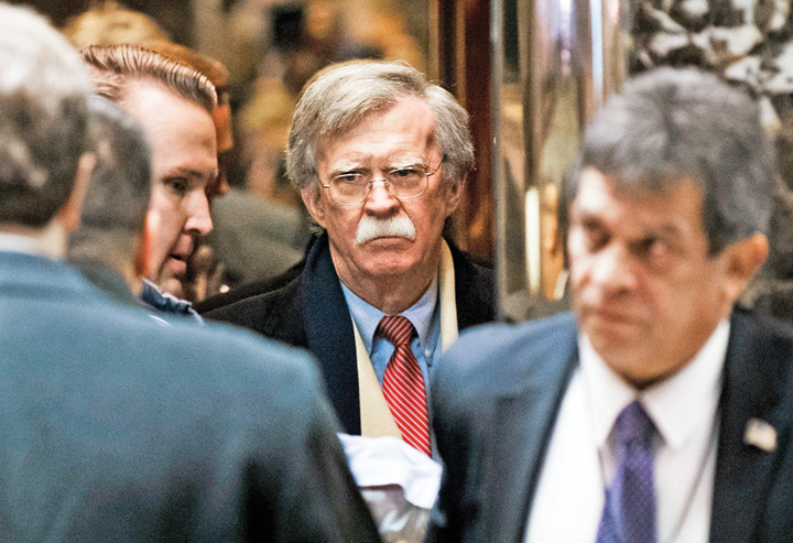 "john bolton trump national security America da cu matura prin ""vecini"""