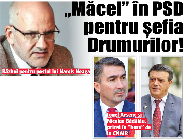 """02 03 18 """"Macel"""" in PSD pentru sefia Drumurilor!"""