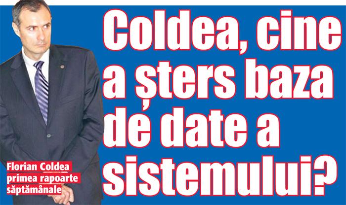 02aaaa03 Coldea, cine a sters baza de date a sistemului?