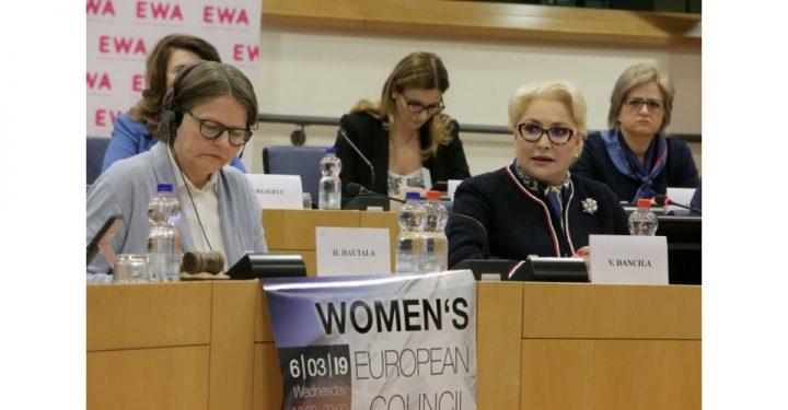 1551897324big 04 resize 720x375 Dancila, la Bruxelles: femeile pot fi lideri intelepti si carismatici