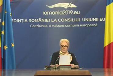 dancila 1 Dancila a propus trei ministri interimari. Se asteapta decizia lui Iohannis