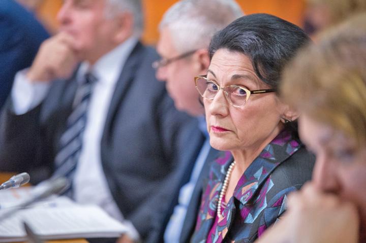 ecaterina andronescu Ministerul Educatiei n a trecut simularea la limba romana