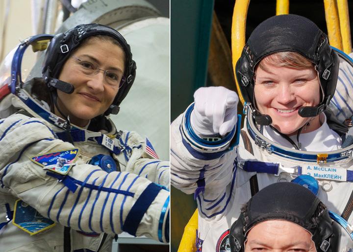 femeile Femeile, primul pas pe Luna