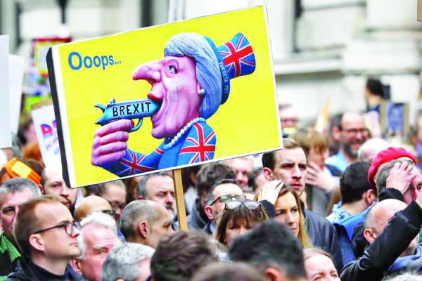 londra 3 Manifestatie uriasa la Londra: cel mai bun acord este niciun Brexit