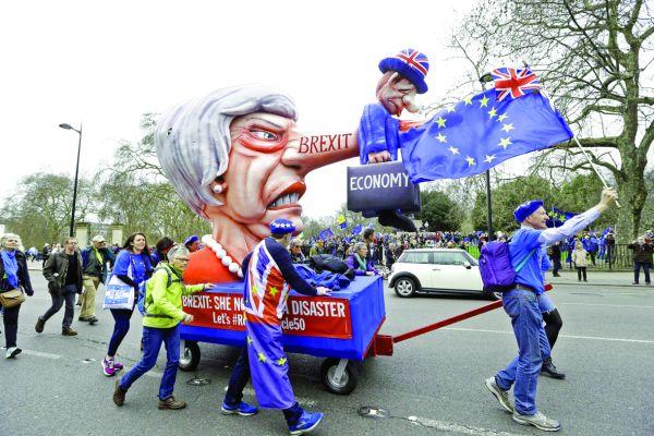 londra 4 Manifestatie uriasa la Londra: cel mai bun acord este niciun Brexit