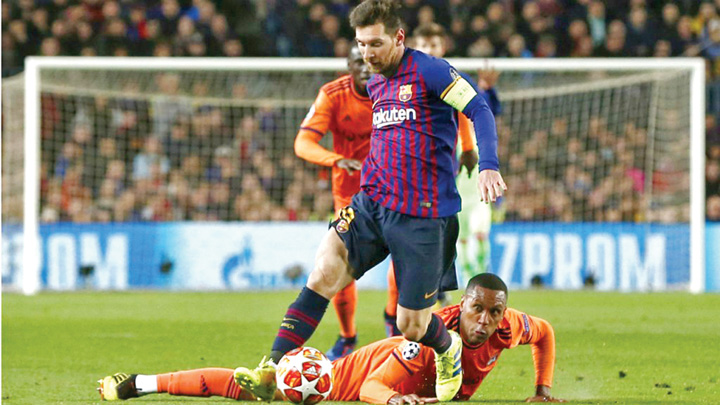 messi 1 Leo Messi, magistral !