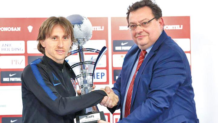 modric Modric, cel mai bun sportiv din lume. Halep e pe locul trei