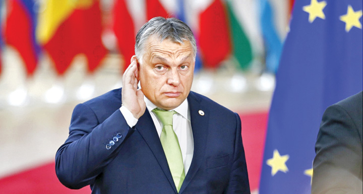 orban 1 Partidul lui Orban, suspendat din PPE