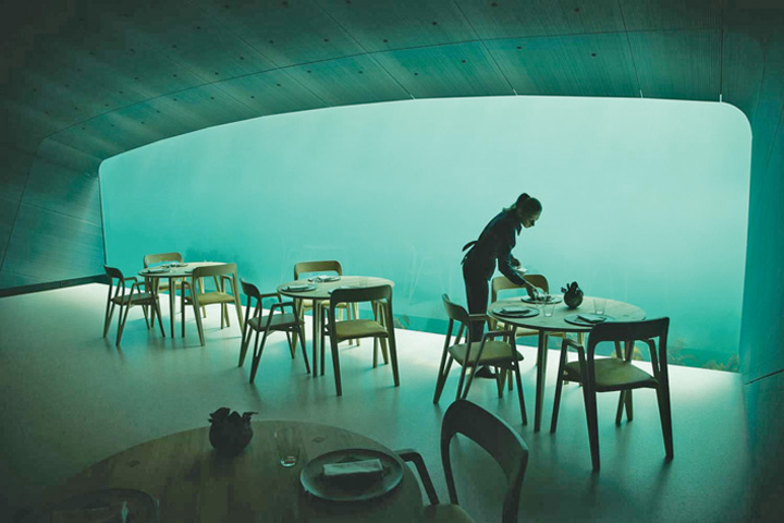 restaurant 1 Primul restaurant subacvatic din Europa