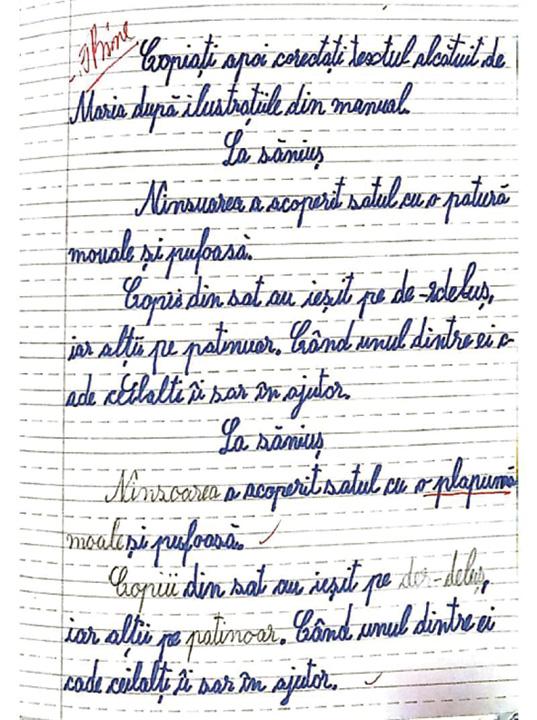 tema buna O tema de clasa a II a dezbina Romania