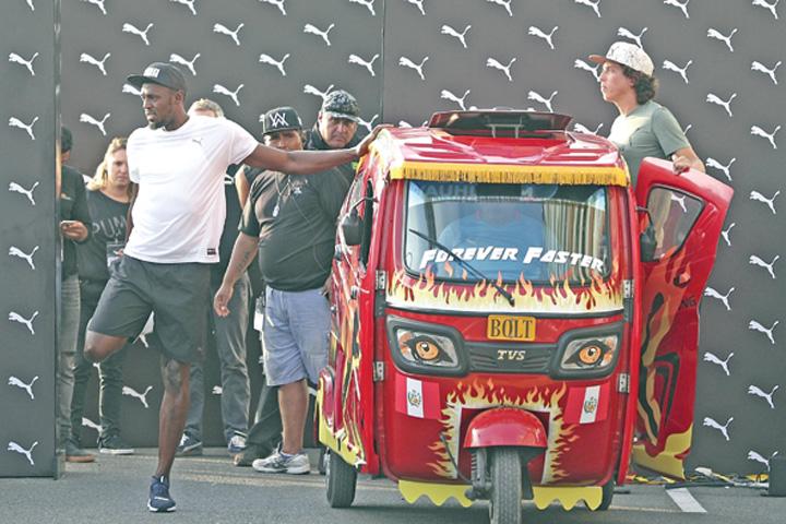 1 1 Usain Bolt a intrecut un taxi
