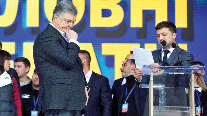 Petro Poroșenko Ucraina o da pe popcorn