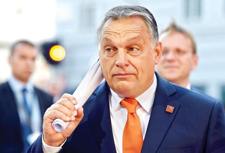 Viktor Orban Euroscepticii, organul extirpat al UE