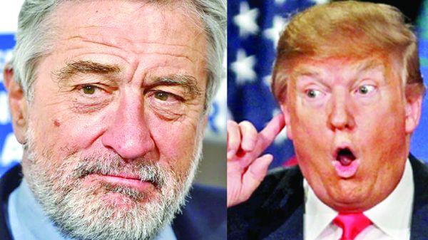 de niro vs trump De Niro: Trump este un adevarat ratat