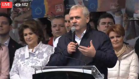 dragnea craiova Dragnea, la mitingul de la Craiova: Iohannis este ingrozit de noi