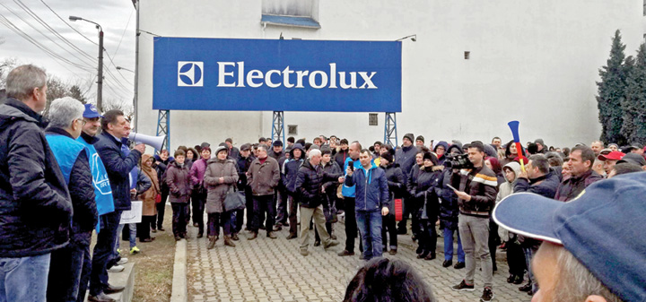 electrolux Campanie publica de boicotare a produselor Electrolux