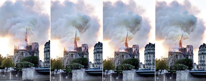 """notre dame colaps Notre Dame, """"Colectivul"""" Frantei"""