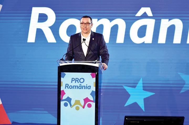 ponta 4 Pro Romania, azilul tradatorilor din politica