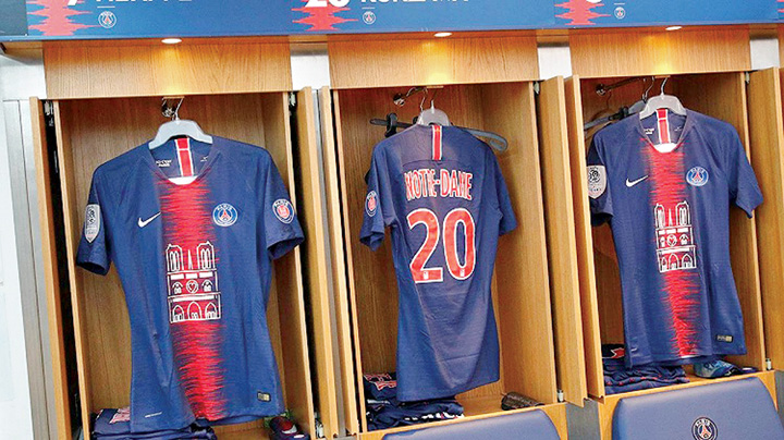 psg 4 PSG a vandut ca painea calda tricourile cu Notre Dame
