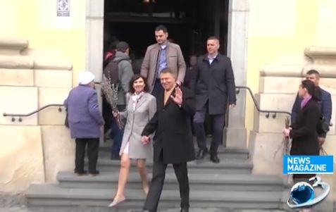 slujba Familia Iohannis, la biserica de Florii (VIDEO)