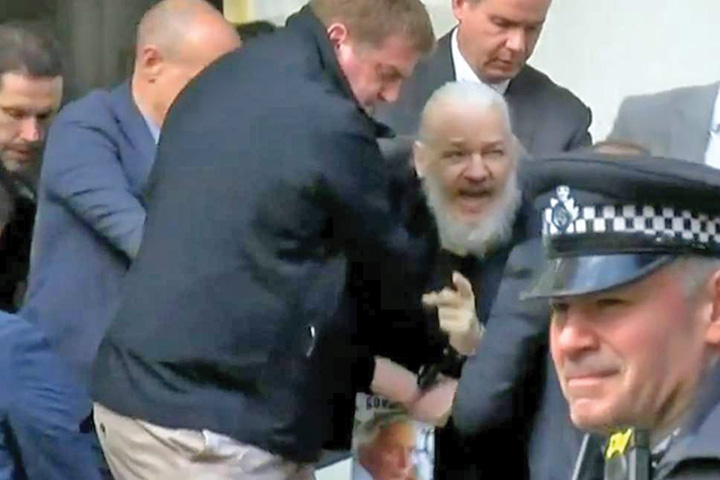 wiki 1 Fondatorul WikiLeaks, arestat la Londra