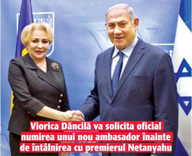 02 a03 1 12.05.2019: Iohannis, tinta pentru Israel!