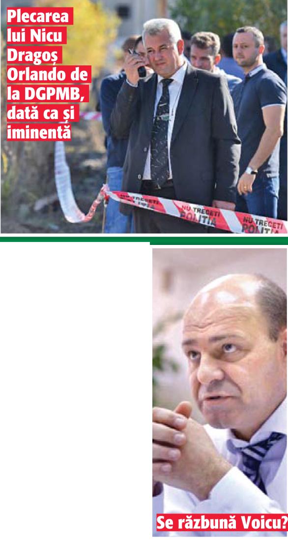"0aa2 03 ""Tinte in miscare"" la Politia Capitalei!"