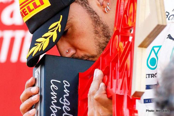 4 Respect, Lewis Hamilton !