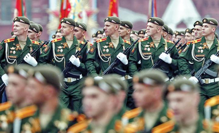 9 Rusia isi arata muschii de Ziua Europei