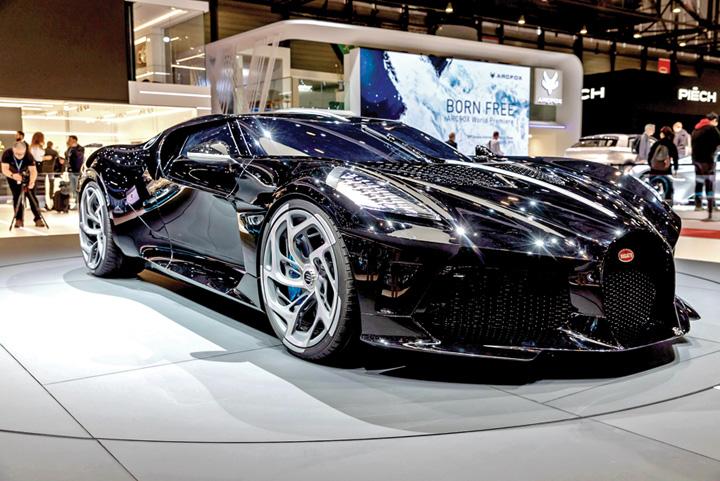 Bugatti La Voiture Noire GIMS 2019 Le Grand Saconnex GIMS0951 Ronaldo detine cea mai scumpa masina din lume