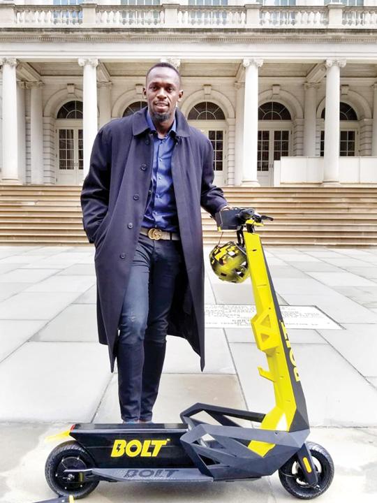 bolt 1 Usain Bolt, ambasadorul trotinetei