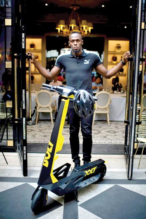 bolt 3 Usain Bolt, ambasadorul trotinetei