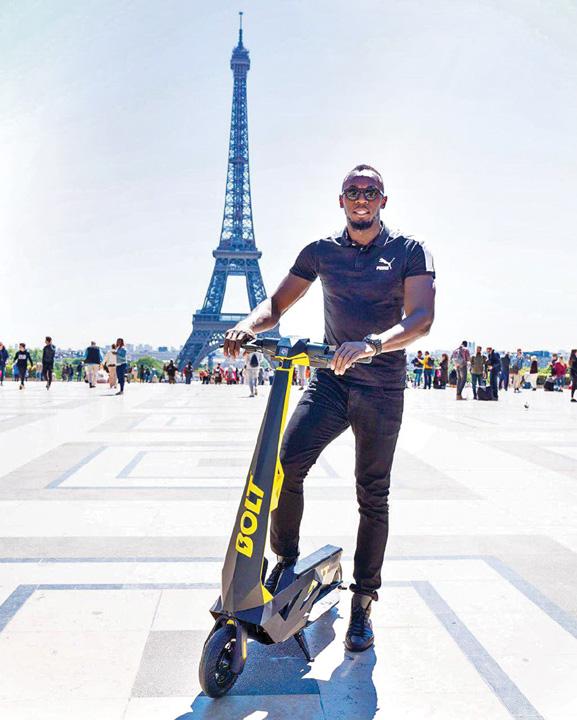 bolt bun Usain Bolt, ambasadorul trotinetei