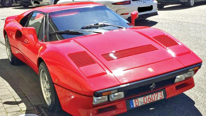 ferrari 1 A furat un Ferrari in cateva secunde