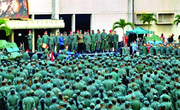 m 2 Armata lui Maduro, pregatita pentru invazia americana