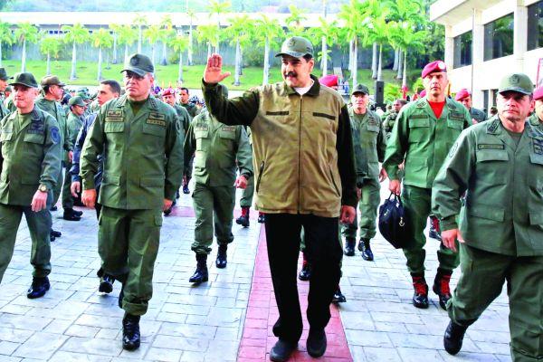 m 3 Armata lui Maduro, pregatita pentru invazia americana