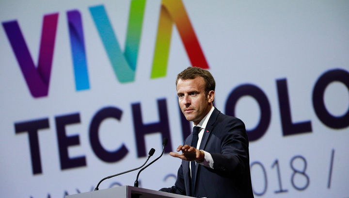 macron 2 Macron, avocatul Huawei