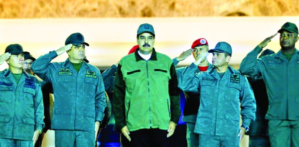 maduro 1 Armata lui Maduro, pregatita pentru invazia americana
