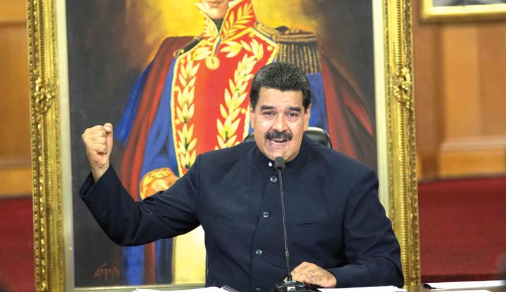 maduro 2 Maduro l a rapit pe vicepresedintele parlamentului